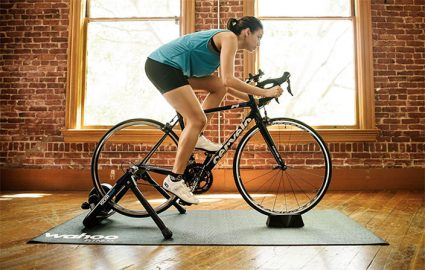 best bike trainer mats