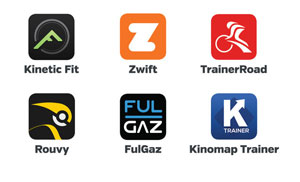 Kinetic Rock and Roll Smart Control Bicycle Trainer Apps