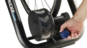 wahoo kickr snap smart trainer adjustment