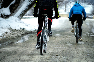 winter cycling endurance